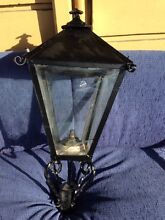 Victorian Cast Iron Lamp Post & Light New Town Hobart City Preview