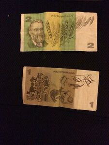 Old Australian bank notes Wetherill Park Fairfield Area Preview