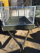 8x5 tandem axle trailer with 900 cage Malaga Swan Area Preview