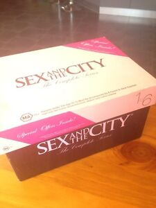 Sex and the city dvd's complete series Palmyra Melville Area Preview