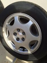 Subaru wheels suits Liberty/Outback 4 x 195/60R15 Enmore Marrickville Area Preview