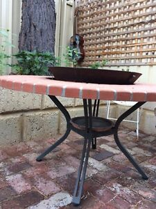 Outdoor table fire pit Doubleview Stirling Area Preview