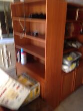 Retro Bookshelves X 2 lovely condition cheap $50 the pair Homebush Strathfield Area Preview