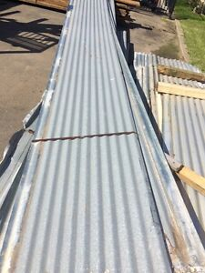 Galvanised corrugated roof iron 7.8 m long Victoria Dromana Mornington Peninsula Preview