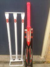 Gray Nichols Cricket Bat and Wickets Upper Mount Gravatt Brisbane South East Preview