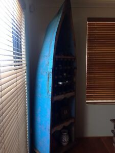 Old Indian Fishing Boat - Wine & Display Rack Stirling Stirling Area Preview