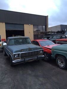 F100 and xr6 wrecking in carrum dons Seaford Frankston Area Preview