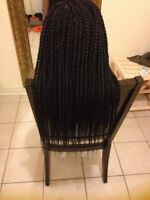 4 to 6 hours only. ..Professional Braids,Kinky Twists,Locs&Weave