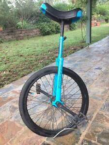 Torker Unicycle - Lightning blue (with stand) Armidale Armidale City Preview