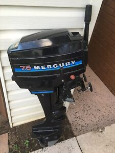 Mercury 7.5 hp Busby Liverpool Area Preview
