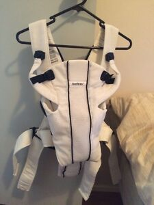 White Baby Bjorn Baby Carrier SOLD PPU Queens Park Canning Area Preview