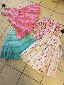 Girls Clothes Sizes 6-8 Dresses,Skirts-Pumpkin Patch & Lily&Dan Carindale Brisbane South East Preview