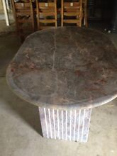 Marble dining  tabke Abbotsbury Fairfield Area Preview