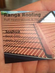 Ranga roofing Point Cook Wyndham Area Preview