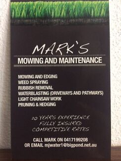 Marks Lawn Mowing & Maintenance