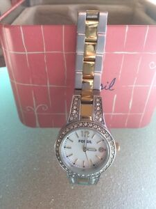 Fossil ladies watch with original box ! Aspendale Kingston Area Preview