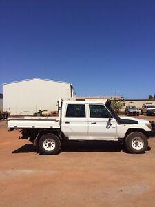 Toyota landcruiser dual cab V8 Wedgefield Port Hedland Area Preview