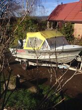 Ex Police Quintrex Seaman MKII 14.8 ft runabout $3,900ono South Hobart Hobart City Preview