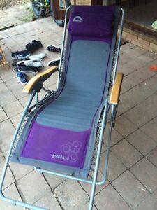 Camping chair - reclining Molendinar Gold Coast City Preview