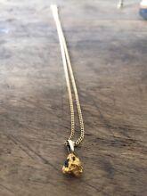 Gold nugget necklace Holland Park West Brisbane South West Preview
