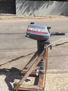 3hp  Yammah outboard motor Castlecrag Willoughby Area Preview