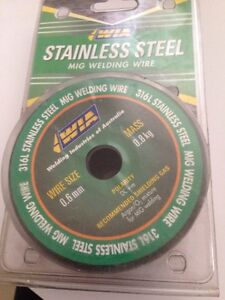 ----mig wire stainless steel------ Craigmore Playford Area Preview