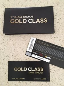 GOLD CLASS TICKETS X2 Narre Warren South Casey Area Preview