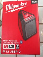 New Milwaukee M12 Jobsite Speaker. Bluetooth USB Aux RRP $99 North Narrabeen Pittwater Area Preview