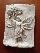Wall Art / Plaque - Fairy with Flowers Summer Hill Ashfield Area Preview