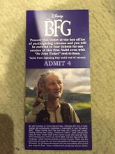 Movie tickets to BFG Strathmore Moonee Valley Preview