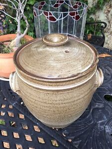 POTTERY BREAD CROCK LARGE Dumbleyung Dumbleyung Area Preview