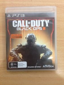 Call of duty back ops 3 PS3 Greenfield Park Fairfield Area Preview