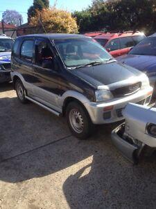Wrecking Daihatsu terios Minto Campbelltown Area Preview