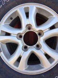 100 series alloy wheel & 7 tyres Wattle Ponds Singleton Area Preview