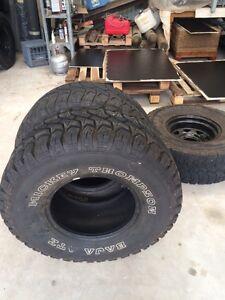 3,  33x12.5r15 mickey Thompson atz tyres Busselton Busselton Area Preview