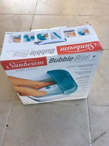 Sunbeam Bubble Bliss Foot Massager Spa Canning Vale Canning Area Preview