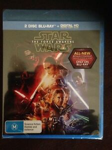 Star Wars the force awakens blu-Ray 2 disc set brand new! Sunbury Hume Area Preview