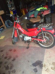 Honda ct110 Oberon Oberon Area Preview