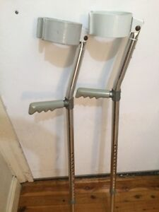 Crutches - Heavy Duty (elbow style) PRICE DROP Sydenham Marrickville Area Preview