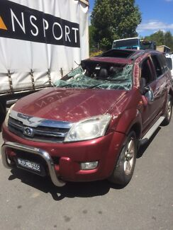 2010 Great Wall x240 AWd wrecking now North Albury Albury Area Preview