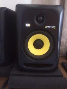 KRK Rokit 6 G3 Studio Monitoring Speakers Oakleigh Monash Area Preview
