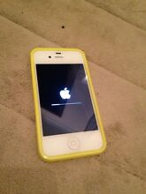 White IPhone 4S  Mint Condition Craigmore Playford Area Preview