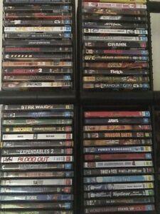 DVDs bargain clear out bulk deals Marsden Logan Area Preview