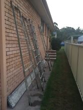 Painting trestles and planks Lemon Tree Passage Port Stephens Area Preview