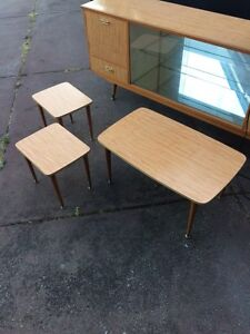 Nest of tables retro coffee table Carine Stirling Area Preview