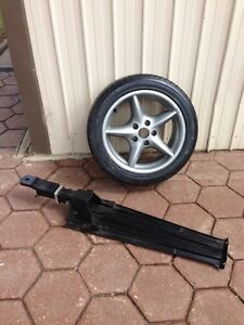 1 of 17 inch HSV rim 80-90% tread and VR-VS towbar North Haven Port Adelaide Area Preview