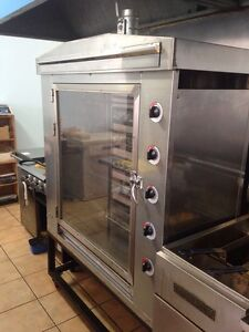 Spit Roast GAS oven. Surfers Paradise Gold Coast City Preview