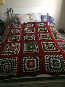 Handmade crotchet blanket Edensor Park Fairfield Area Preview