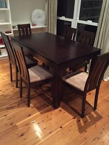 Oz Design dining table & 6 chairs Botany Botany Bay Area Preview