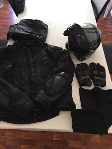 Motorbike helmet(XL),jacket(xxl)and gloves(xxxl)++ Merrimac Gold Coast City Preview